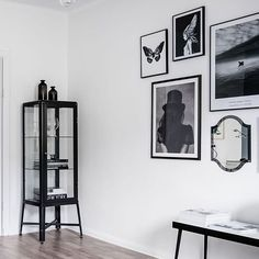Ikea is a minimalist, too. Ikea 'Fabrikör' display cabinet @stilorum