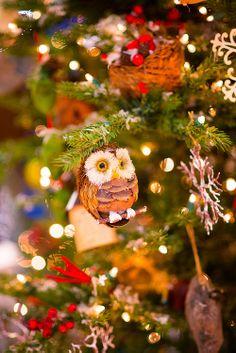 Christmas Owl Decorations