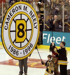 Cam Neely having his number 8 jersey retired | Boston Bruins | NHL | Hockey