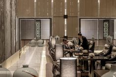 Four Seasons Hotel Shanghai Guest at Executive Club Airport Lounge, Hotel Lounge, Lobby Lounge, Restaurant Lounge, Design Hotel, Lounge Design, Hotel Lobby, Hotel S, Shanghai Hotels
