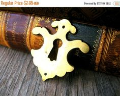 Clearance Sale Vintage Hardware  Brass by BohemianGypsyCaravan