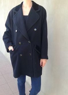 Kup mój przedmiot na #vintedpl http://www.vinted.pl/damska-odziez/plaszcze/10614160-czarny-plaszcz-oversize-welna-coat