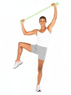 We asked top trainers to put together a toning workout featuring a resistance band so you can get lean without a pricey gym membership.