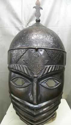 PERSIAN ISLAMIC HELMET / MASK