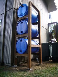 Ways To Make Water From Air – Greenhouse Design Ideas Water Barrel, Rain Barrel, Rainwater Harvesting System, Water From Air, Water Scarcity, Water Collection, Water Resources, Water Storage, Water Systems