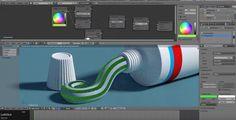Blender - Cycles Still Life Tutorial - Toothpaste Part I