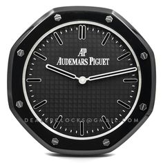 Audemars Piguet Dealer Display Wall Clock Based On The Royal Oak Series Available In Black Dlc Bezel For A Unique Chic And Minimalist Look Karl Lagerfeld St