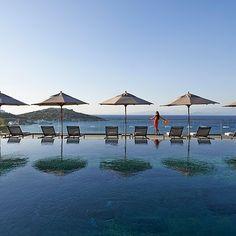 The Mandarin Oriental Bodrum, on the Aegean Sea.