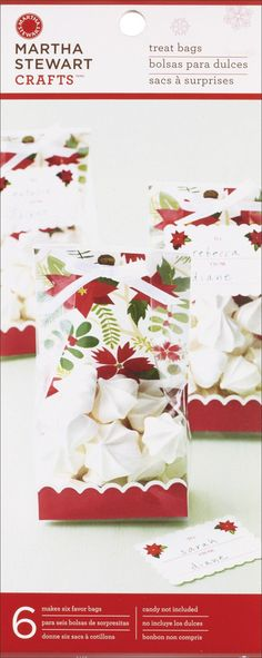 Martha Stewart Treat Bags by BitsNPiecesGifts on Etsy, $4.00