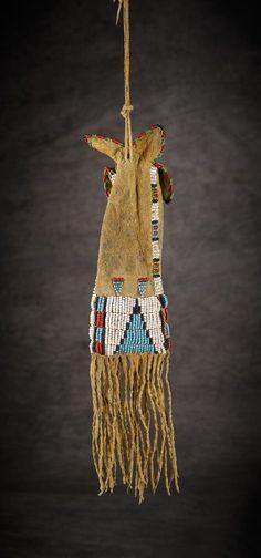 Cheyenne Beaded Paint Bag - High Noon Western Americana