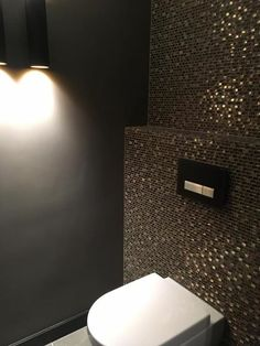 Bathroom Design Small, Modern Bathroom, Black Toilet, Luxury Master Bathrooms, Downstairs Toilet, Toilet Room, Flat Ideas, Bathroom Toilets, Interior Design Living Room