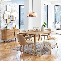 Buffet 1 porte 3 tiroirs en manguier massif | Maisons du Monde