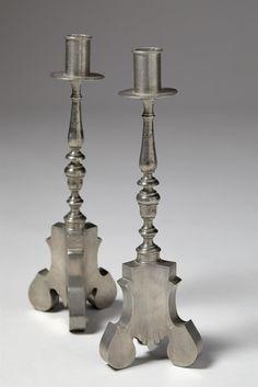 svenskt tenn pewter candlesticks | 1928 | #vintage #1920s #home