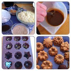 Making raw caramac in my beginners raw chocolate workshop