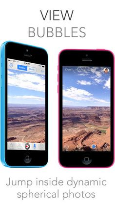 With this app, you take a panoramic picture of your surroundings, and it turns it into a bubble picture.  When others look at it, it is as if they are there, too! This would be great if a teacher went on a vacation to DC and could take these bubble pictures of the different sites you see so the students can feel like they're there, too!