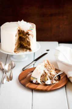 The simple act of Cake means celebration to me. And indeed, there's a lot to celebrate right now: May Day, the full-blown coming of spri...