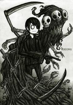 With Shadow of Death by DemiseMAN.deviantart.com on @deviantART