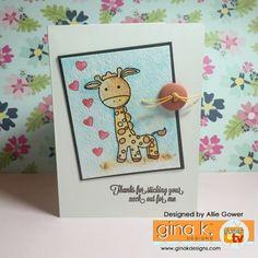 Genevieve Giraffe - Gina K Designs