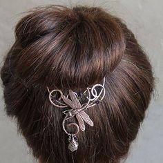 Femme Dots Grande Pince à Cheveux Pince Clip français printemps Ponytail Holder Bath