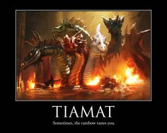 Tiamat: Sometimes the Rainbow Tastes You     Contests | Dungeons & Dragons
