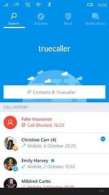 Download Truecaller 5.3.1.0 APPX For Windows Phone
