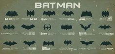 The history of the Batman symbol... 1960s TV Batman rules!!!!