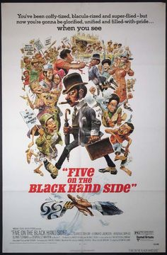 FIVE ON THE BLACK HAND SIDE Movie Poster (1973)