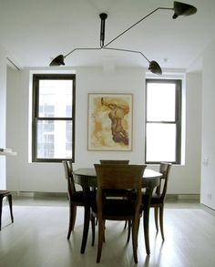 Serge Mouille 3 Arm Ceiling Lamp Simple And Elegant This Makes A