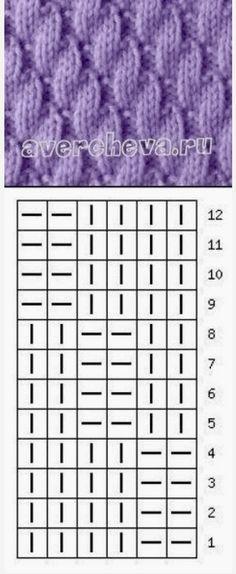 Crochet Patterns Needles 'Child Knitting Patterns Knits and purls ~~ avercheva. Loom Knitting Projects, Knitting Stiches, Knitting Charts, Lace Knitting, Knitting Designs, Knitting Patterns Free, Knit Crochet, Crochet Motif Patterns, Couture