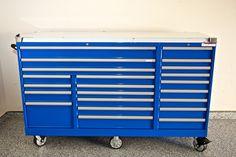 Lista Technician series triple bank toolbox . Model # TSTB900-2201-M