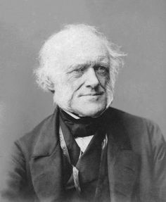 Sir Charles Lyell (1797-1875), whose book 'Principles of Geology' was to have a significant impact upon his close friend Charles Darwin, regarding the continual slow accumulation of minute changes over vast spans of geological time. Whilst this had implications Darwin recognised for the age of humankind, Lyell himself struggled, as a devout Christian, to reconcile his faith with the concept of evolution.