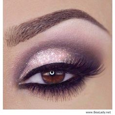 15 Attractive Winged Smokey Eyes Make up Looks for the year 2019 - Makeup - Eye Make up Day Eye Makeup, Smokey Eye Makeup Look, Purple Eye Makeup, Makeup For Brown Eyes, Prom Makeup, Makeup Eyeshadow, Smokey Eyeshadow, Winged Eyeliner, Pink Eyeliner