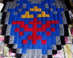 Hylian Shield - Zelda crochet
