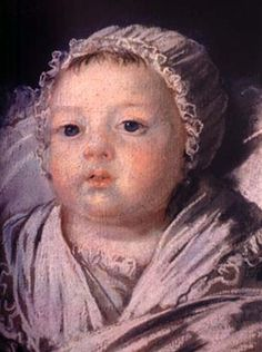 Princess Sophie Helene Beatrix of France, daughter of Louis XVI and Marie-Antoinette, 9 July 1786 to 19 June 1787