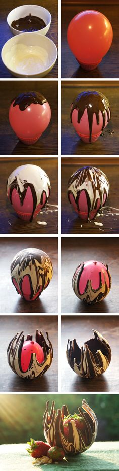 Chocolate Bowl DIY