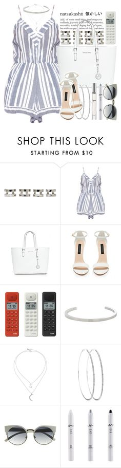 """""""300. - wow, my 300th set!!"""" by janiyah-michelle ❤ liked on Polyvore featuring Maison Margiela, Lovers + Friends, MICHAEL Michael Kors, Forever New, Punkt., Jennifer Fisher, Miss Selfridge, NYX and Chloé"""
