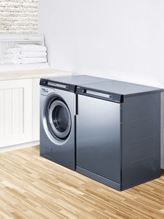 """Summit 23.5"""" Electric Dryer with 3.9 cu. ft. Capacity, 5 Dry Cycles, in Stainless Steel TDC111V at appliancesconnection.com. The Summit TDC 111V electric dryer has a capacity of 16 lbs along with some durable construction and a sleek front loading design. #durableconstruction #digitaldispaly #summit"""