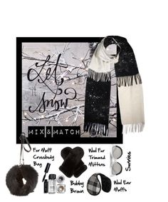 """""""Winter Scarf Style"""" by m-e-l-o-d-e ❤ liked on Polyvore featuring Bobbi Brown Cosmetics, Jocelyn, Sylvia Alexander, Weekend Max Mara, Linda Farrow, scarf, contestentry and winterstyle"""