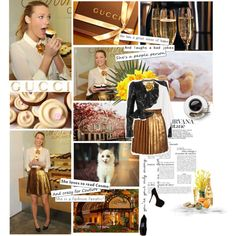 Blake Lively in Gucci Resort 2012, created by cheroro on Polyvore