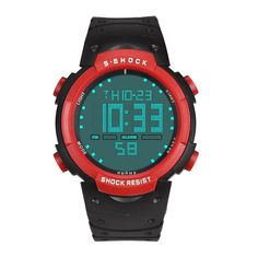luxury Brand HONHX Men's Boy Fashion Military Waterproof Digital LED Date Sport Quartz Wrist Watch Water Resistant Wristwatches