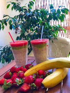 Επιδόρπιο Φρούτων !!! ~ ΜΑΓΕΙΡΙΚΗ ΚΑΙ ΣΥΝΤΑΓΕΣ 2 Planter Pots, Strawberry, Diet, Fruit, Food, Essen, Strawberry Fruit, Meals, Strawberries