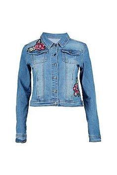 50 meilleures images du tableau vestes brodees en jean   Embroidered ... 69c69d31c2c