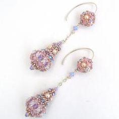 Pretty beaded earrings by Ann Braginsky