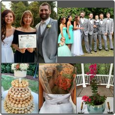 The sun came out on cue for Remy and Brittany as they exchanged vows on Sunday. The ceremony featured a Pink Velour Crepe Myrtle for the tree planting unity ritual and a favorite passage from The P...