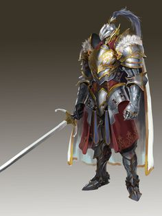 Paladin Knight Champion Hero Fantasy.