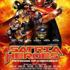 @lunamaya Support your local heroes Satria Heroes: Revenge of Darkness tayang di bioskop