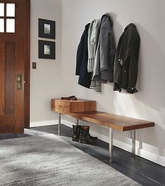 20 best modern benches images in 2019 modern bench bench benches rh pinterest com  modern foyer bench design