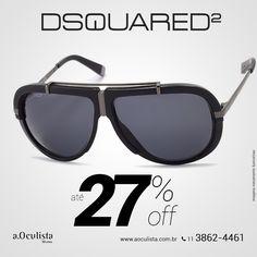Óculos de Sol Dsquared com Até 27% com desconto Compre pelo site em Até 10x Sem Juros e frete grátis nas compras acima de R$400,00 👉 www.aoculista.com.br/dsquared #aoculista #dsquared #glasses #sunglasses #eyeglasses #oculos