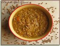 Zuppa farro e lenticchie Ricetta | Ricette con farro | Ricetta toscana | Prodotti Tipici Toscani