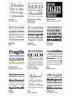 Seleccion tipographyca Las mejores tipografías de 2012 según Typographica